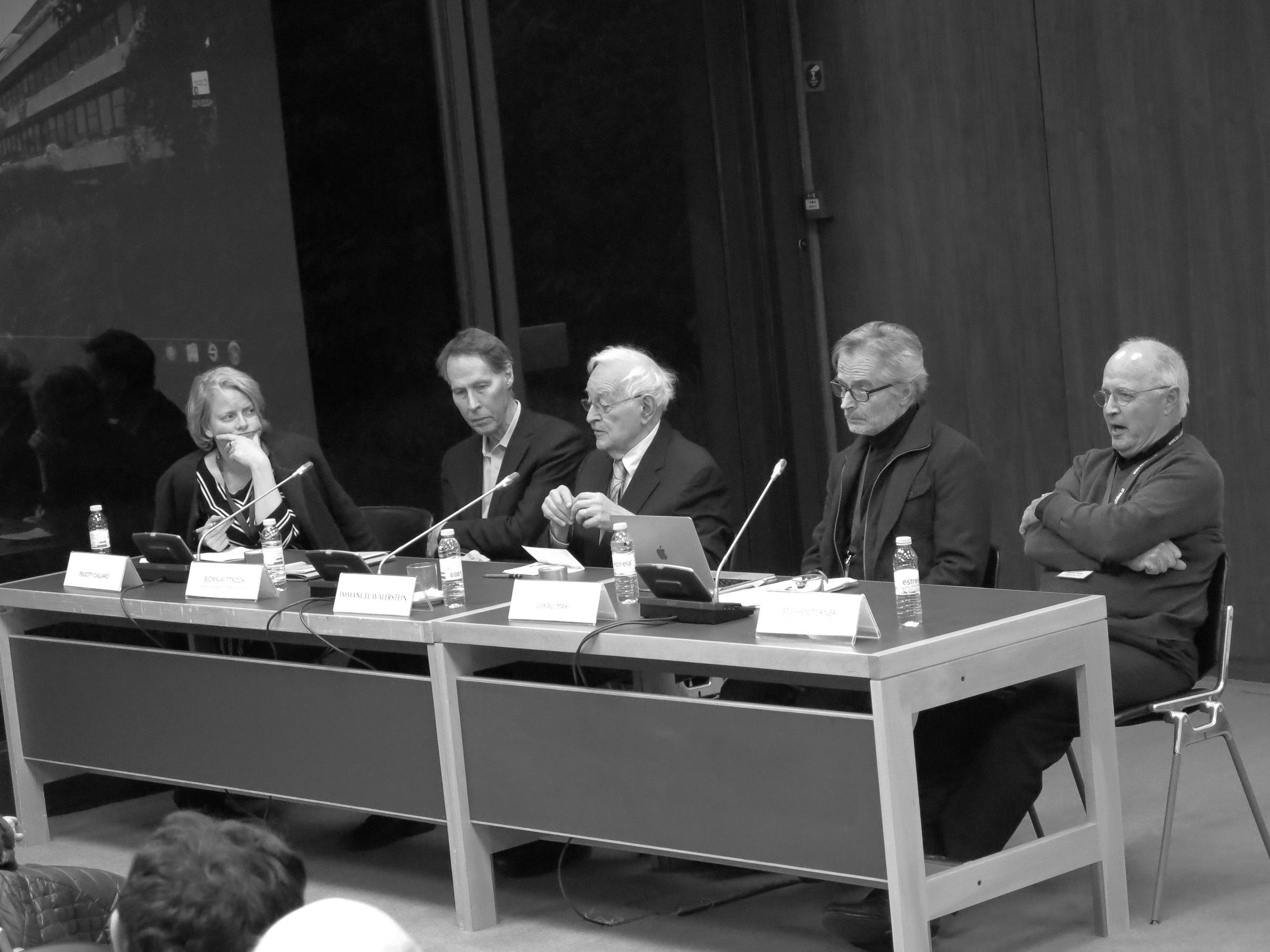 Immanuel Wallerstein – Closing Panel