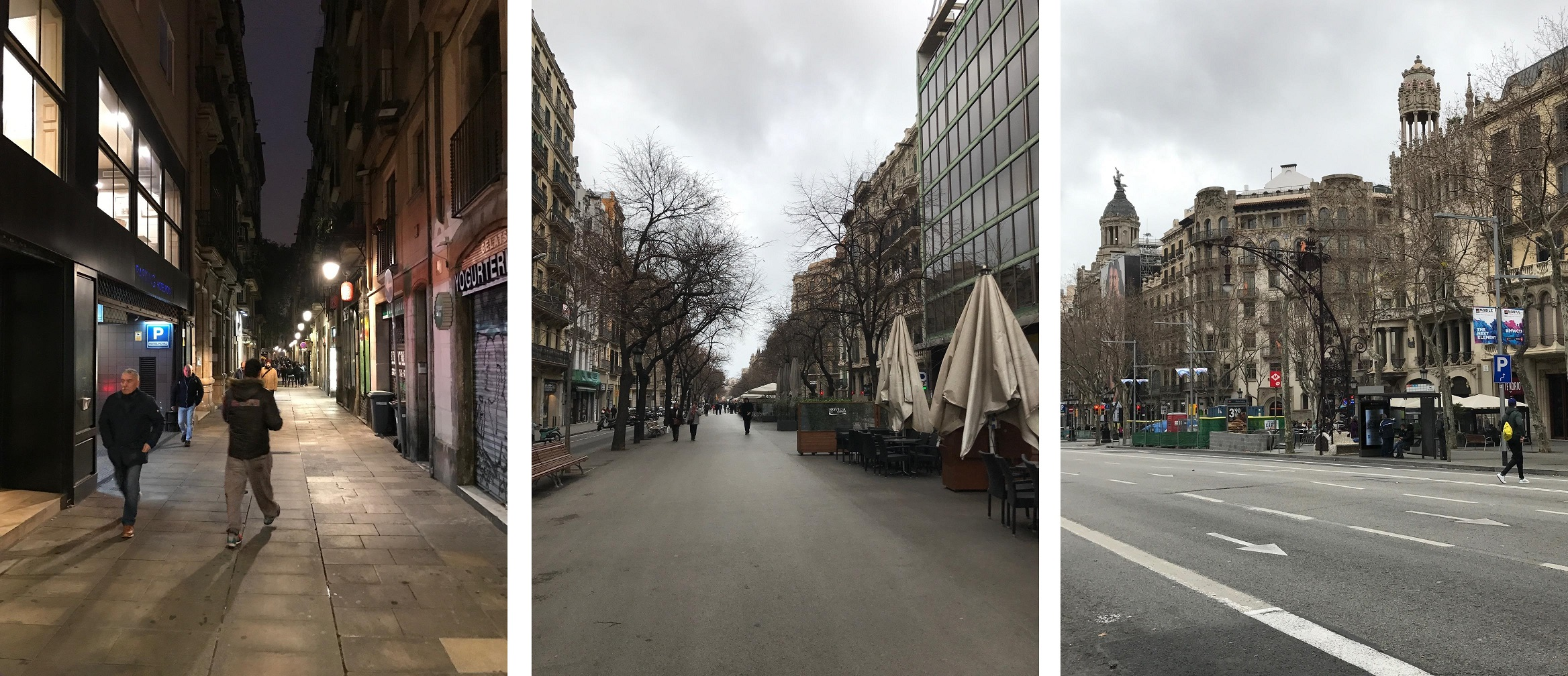 Street Mobility In Barcelona